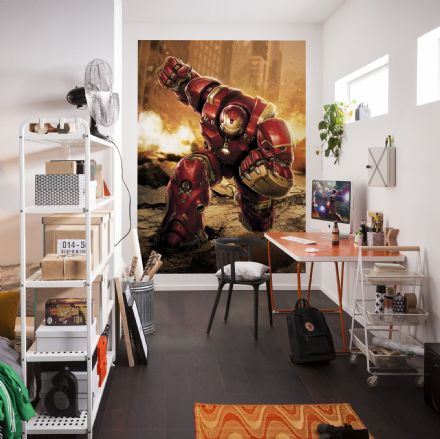 Avengers Hulkbuster wall mural wallpaper Marvel